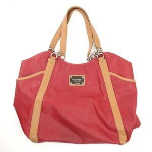 Nine West Tote Bag Red Gold 49ers NFL Team Colors